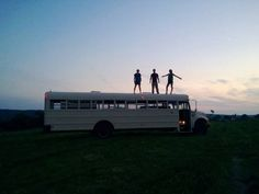 The Locavaux Bus (three friends raised money to convert a bus and travel)