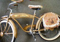 1950's Davy Crockett Bicycle $2900