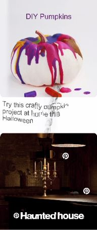 Visit the Pinterest Haunted House to find killer ideas in every room.  #PinterestHauntedHouse