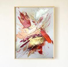 Art tableau peinture décoration - Peinture abstraite - Décoration mur doré - peinture or et cuivre - moderne et contemporain par VanessaPeka sur Etsy https://www.etsy.com/fr/listing/555484234/art-tableau-peinture-decoration-peinture