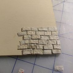 3 Ways to Create Egg Carton Masonry for your Dollhouse - Birgit Lührs - 3 Ways to Create Egg Carton Masonry for your Dollhouse 3 Ways to Create Egg Carton Masonry for your Dollhouse – Minnesota Miniatures Market - Fun Diy Crafts, Arts And Crafts, Paper Crafts, Paper Toys, Doll Furniture, Dollhouse Furniture, Barbie House Furniture, Miniature Furniture, Miniature Houses