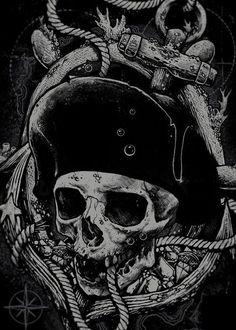 Dark waters lay at th' bottom o' Davy Jones' lockar. Best try t' avoid addin' yet bones t' em.