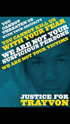 JUSTICE for TRAYVON!!!