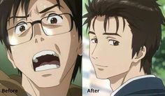 Ikr anime: parasyte (V: Yup, I like him more now.. ! ^^ :D)