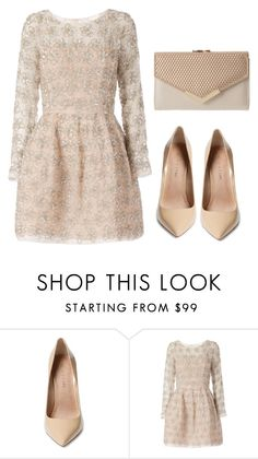"""""""Clear colours!"""" by lala-869 ❤ liked on Polyvore featuring Maiden Lane and Oscar…"""