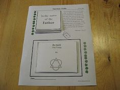 That Resource Site: Catechism Lesson on The Trinity - Includes F3 Pieces, Copywork, Mini-books and More