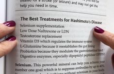 The best treatments for Hashimoto's disease