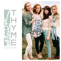 #springthyme looks we love @THYME boutique