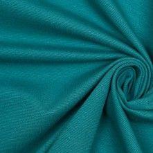 Blue Coral Stretch Viscose Ponte Knit