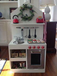 Diy kitchen children ana white Ideas for 2019 Play Kitchen Diy, Diy Kitchen Projects, Wood Projects For Kids, Kids Wood, Toy Kitchen, Play Kitchens, Kitchen Wood, Kitchen Worktop, Kitchen White