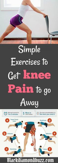 Knee Pain Relief : Easy Exercises to Get Rid of keen Pain at Home. Knee Pain Relief : Easy Exercises to Get Rid of keen Pain at Home. Fitness Workouts, Sport Fitness, Easy Workouts, Health Fitness, Fitness Shirts, Pilates, Autogenic Training, Natural Cure For Arthritis, Natural Cures