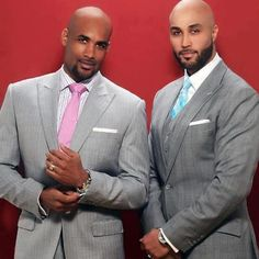 Do you know Boris Kodjoe? Well, he has a brother, his name is Patrick.. Let's all just take a minute