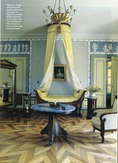 The World of Interiors, October 2008. Photo - Jacques Dirand