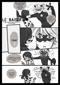 Miraculous Ladybug & Chat Noir - Cat Noir, A thank you Kiss - LE BAISER