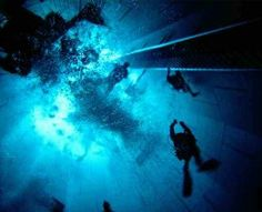 NEMO33 is the deepest indoor swimming pool in the world, with a maximum depth of 113 feet.