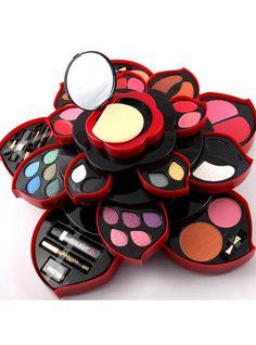 2 Option Newest Professional 46 Full Colors Make Up Kit Blush Eyeliner Lipstick Collection MakeUp Palette Collection For Gift Makeup Kit For Kids, Kids Makeup, Makeup Box, Makeup Brush Set, Makeup Case, Beauty Makeup, Shimmer Eyeshadow, Eyeshadow Makeup, Gel Eyeliner