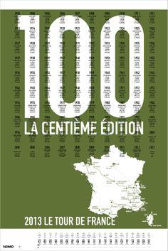 Image of 2013 Tour de France Screen Print