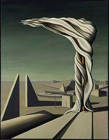 Kay Sage - I Saw Three Cities, 1944.