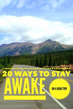 20 tried and tested tips to stay awake driving from travelers and long haul drivers. Best ways to prevent falling asleep while driving. Travel Advice, Travel Guides, Travel Tips, Travel Hacks, Family Road Trips, Road Trip Usa, Travel Couple, Family Travel, Road Trip Destinations