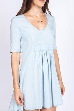 Dalia Chambray Dress