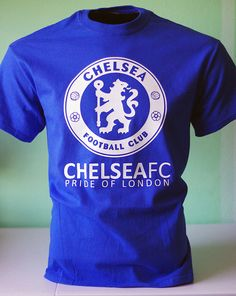78e953e35192 Chelsea FC Football Soccer T Shirt Jersey - The Pride of London on Etsy