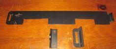 "ARCADE COIN-OP HD SECURITY BAR FOR SINGLE DUAL ENTRY COIN DOOR 20.75"" X 3"", GUC"