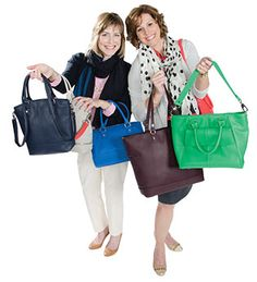 Our Story Cindy Monroe Founder of Thirty One Gifts and Jewell with her sister and Co-Founder for Jewell