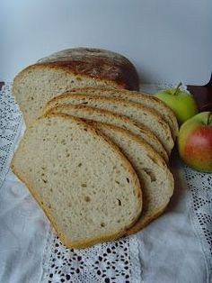 Domowy chleb - przepis Polish Recipes, Bread N Butter, Pumpkin Cheesecake, Bread Rolls, How To Make Bread, Bread Baking, Bread Recipes, Bakery, Food And Drink