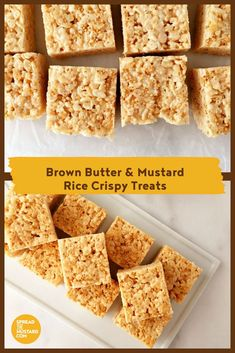 This classic treat is a fine marriage of sweet and salty. With the warmth of dry mustard and the pop of yellow mustard seed, these squares are sure to please kids (and grown ups!) of all ages. Rub Recipes, Great Recipes, Snack Recipes, Dessert Recipes, Favorite Recipes, Snacks, Appetizer Recipes, Potluck Recipes, Dry Mustard