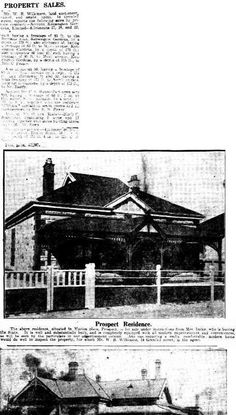 The Mail (Adelaide, SA : 1912 - 1954), Saturday 26 August 1916, page 9, Marian Place, Prospect