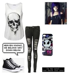 """""""Untitled #125"""" by musicqueen72 ❤ liked on Polyvore featuring Converse and Disney"""