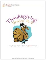 Printable Book of Thanksgiving Activities for Grades K-2