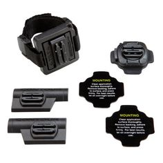 A combination of mounts for all #helmet types.  Includes a Vented Helmet Mount, a right and left Profile Mount, a Rotating Flat Surface Mount, two (2) Rotating F...
