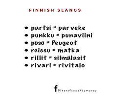 """Learn Finnish by my way on Instagram: """"Vastaukset ovat täällä👆🏻 #puhekieli #slangit #finnishslangs #opisuomea #learnfinnish #suomenkieli #finnishlanguage #learnfinnishbymyway…"""" Math Equations, Instagram"""