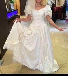 80s wedding dress   £82.00 (15B)