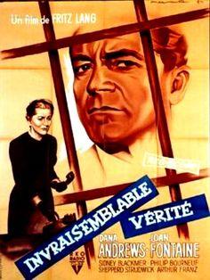 L'Invraisemblable Vérite - Beyond a Reasonable Doubt - Fritz Lang (1956)