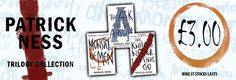 Patrick Ness Chaos Walking 3 Books Collection Pack Set only £3.00!