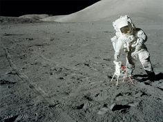 jack-schmitt-transmitter auf dem Mond