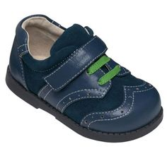See Kai Run Boys Adir Blue from seekairun.com - cool baby shoes, toddler shoes, kids shoes and baby booties.