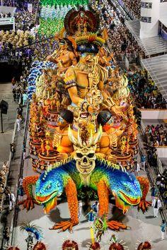 CARNAVAL 2016: MOISSON D'IMAGES… à RIO ou à SAO PAULO http://www.southamericaperutours.com