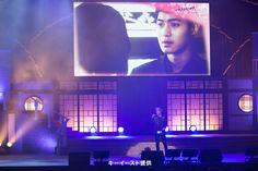 キム・ヒョンジュン来日!ドラマ「感激時代~闘神の誕生」ファンミーティング  『今日が過ぎれば』を歌うリダ♡