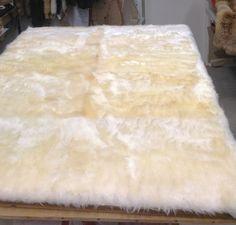 Bárány bőr ágytakaró, Lambskin bed blanket by GyulaKocsis on Etsy