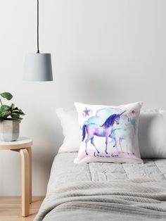 3 Pearls Designs Little Girls Purple Silver Glitter Wing Unicorn Tee 3-6X