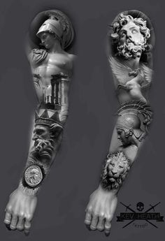 tattoos zeus mythology * tattoos zeus + tattoos zeus mythology + tattoos zeus poseidon + tattoos zeus greek gods + tattoos zeus design + tattoos zeus symbol + tattoos zeus for men + tattoos zeus realismo Arm Sleeve Tattoos, Tattoo Sleeve Designs, Forearm Tattoos, Body Art Tattoos, Symbol Tattoos, Zeus Tattoo, Hercules Tattoo, Future Tattoos, Tattoos For Guys
