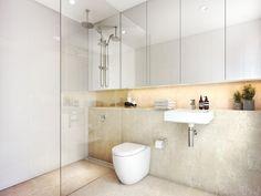 44 creative tiny house bathroom remodel ideas to make it look larger 39 Cottage Style Bathrooms, Tiny House Bathroom, Bathroom Renos, Bathroom Interior, Bathroom Ideas, Bathroom Plants, Bathroom Remodeling, Narrow Bathroom, Simple Bathroom