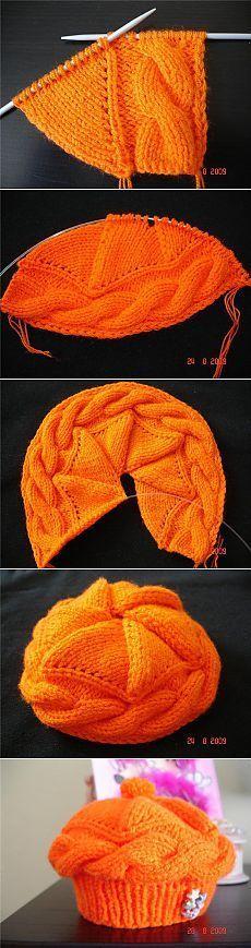 New Crochet Hat Tutorial Ganchillo 66 Ideas Knitting Designs, Knitting Projects, Knitting Patterns, Crochet Patterns, Hat Patterns, Crochet Ideas, Loom Knitting, Knitting Stitches, Baby Knitting