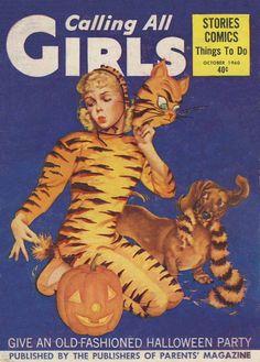 vintage magazine Calling All Girls 1960