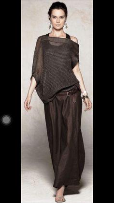 The 7 exclusive journal Sarah Pacini, collection pret à porter printemps/été Moda Casual, Casual Chic, Look Fashion, Womens Fashion, Fashion Design, Fashion Trends, Fashion Hair, Mode Outfits, Casual Outfits