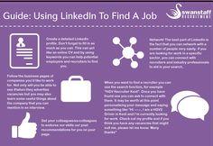 #Infographic guide for #jobseeking on #Linkedin #jobhunt #jobs #job #career #socialmedia #socialrecruiting #recruiting #recruitment #recruiter #careertips