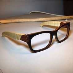 Dovetailed Wooden Glasses / This instructable describes every step involved in duplicating your existing prescription frames or sunglasses into a wooden dovetailed frame. / Instructables.com